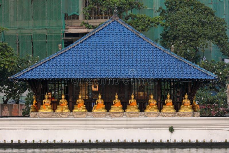 Seema Malaka Temple van Colombo in Sri Lanka royalty-vrije stock afbeelding