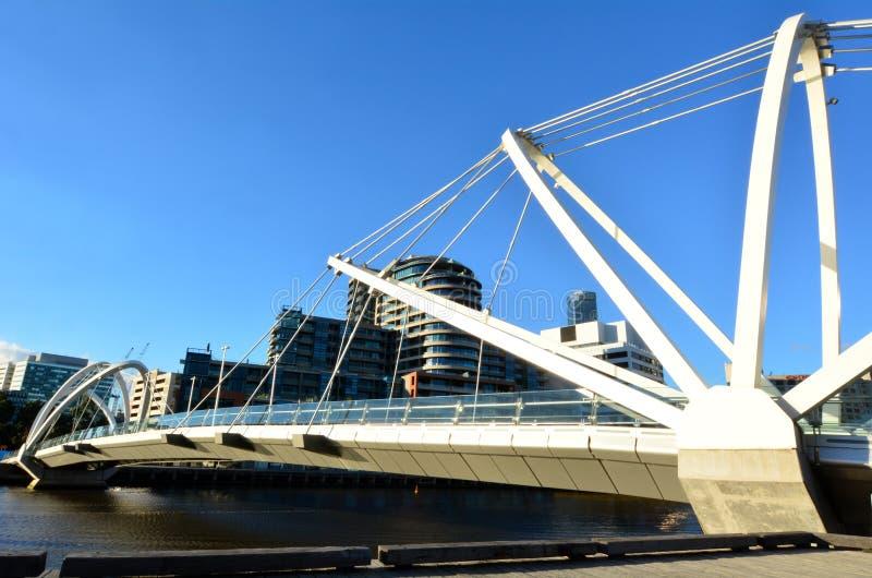 Seemann-Brücke - Melbourne stockfotos