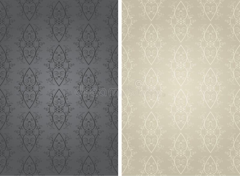 Seemless Wallpaper Background (Vector) stock illustration