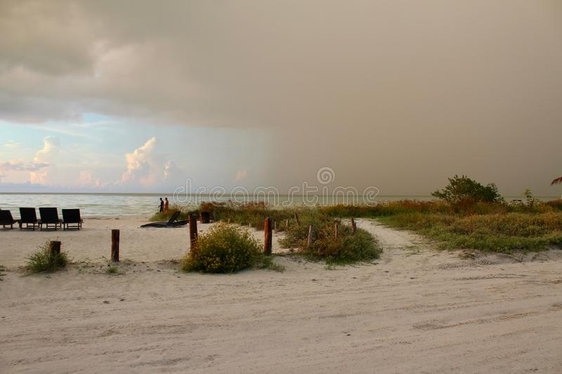 It seems like it`s going to rain royalty free stock photo