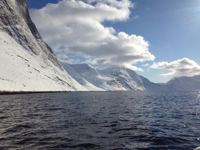 Seen in Grönland stockfotografie