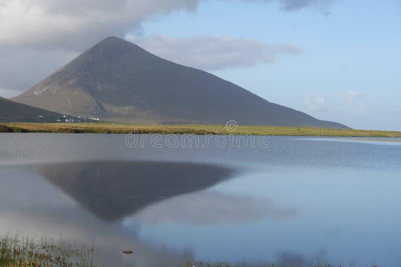 Seen und Berge stockbilder