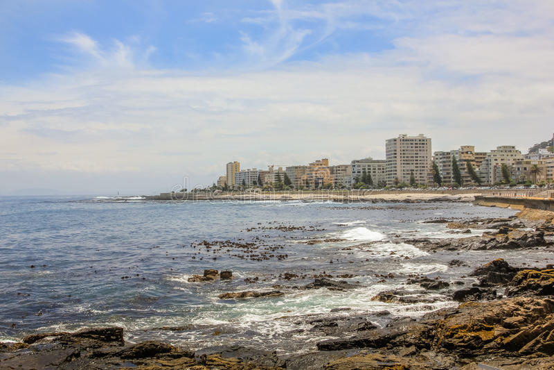 Seepunkt Cape Town stockbild