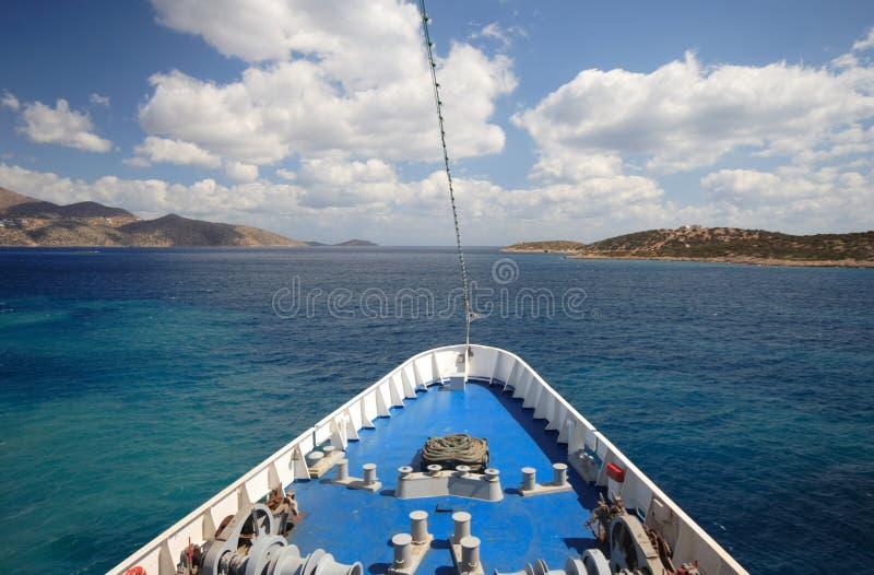 Seereiseflug lizenzfreies stockfoto