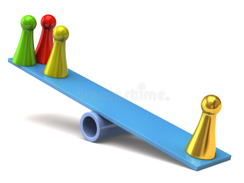 Download Seesaw Royalty Free Stock Photos - Image: 13133598