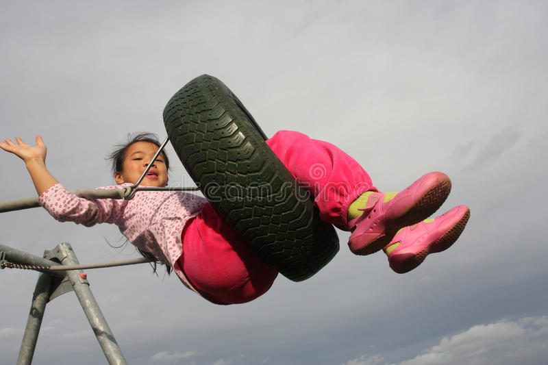 Download Seesaw Child Royalty Free Stock Photo - Image: 13109795