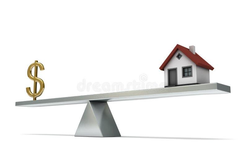 Seesaw dollar house