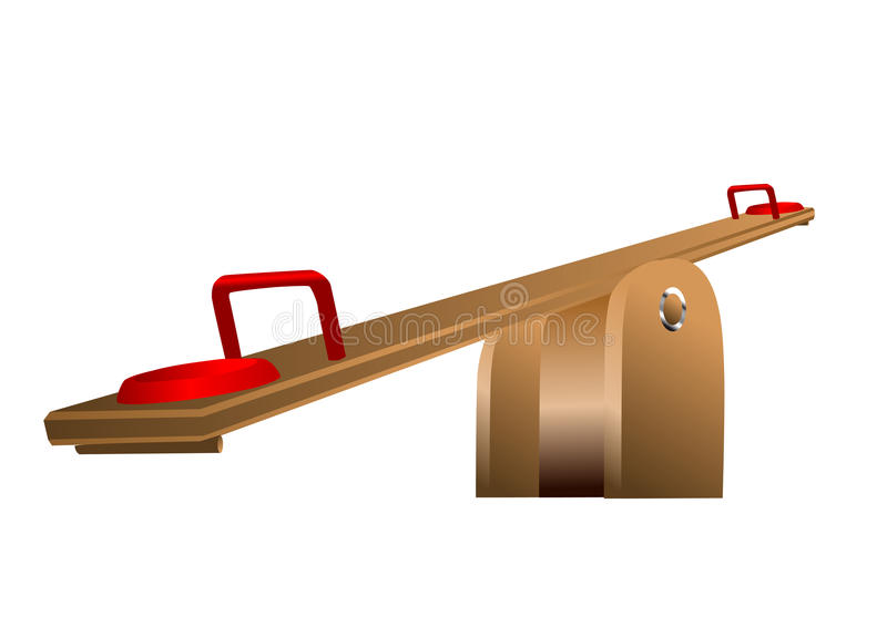 Seesaw Royalty Free Stock Photo