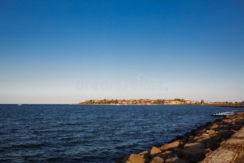 Seesommerstrand stockbild