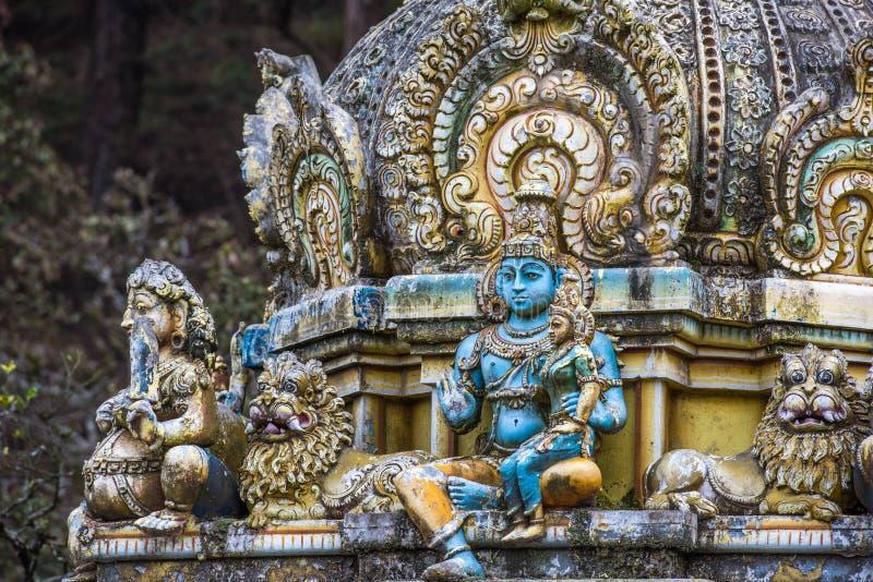 Seetha阿曼印度寺庙,斯里兰卡 免版税图库摄影