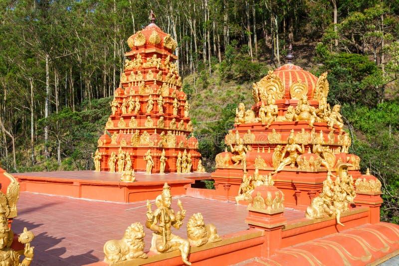 Seetha阿曼印度寺庙 免版税库存照片