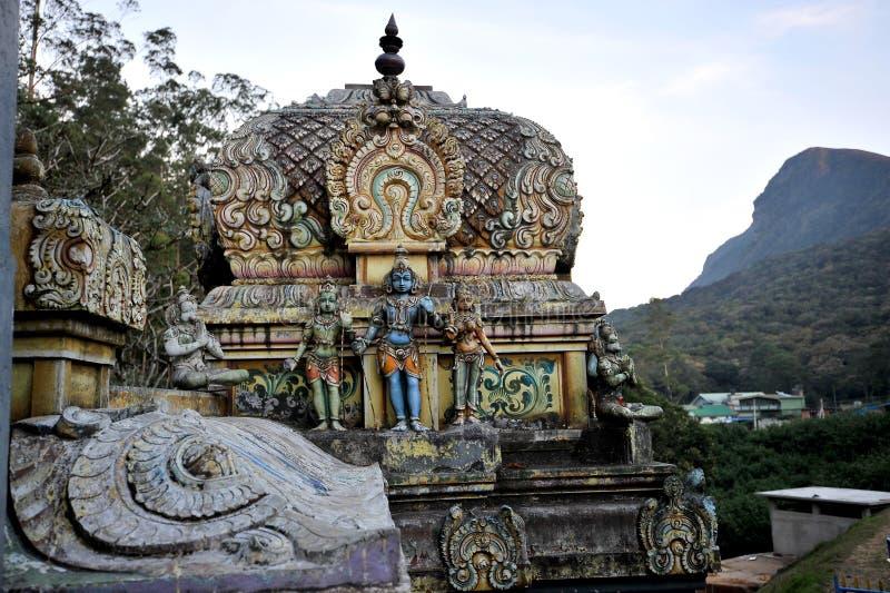 Seetha阿曼寺庙 图库摄影