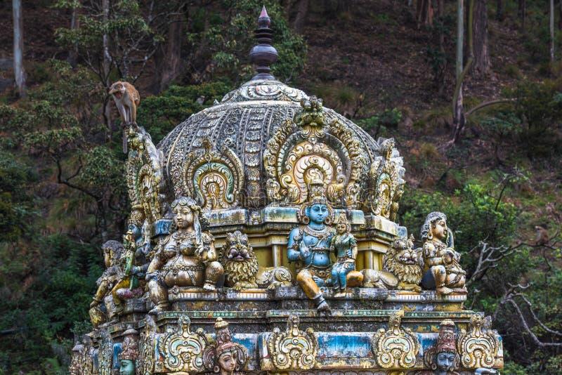 Seetha Amman Hindu temple, Sri Lanka. Image of Seetha Amman Hindu temple, Sri Lanka royalty free stock images