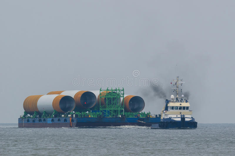 Seetransport stockbild