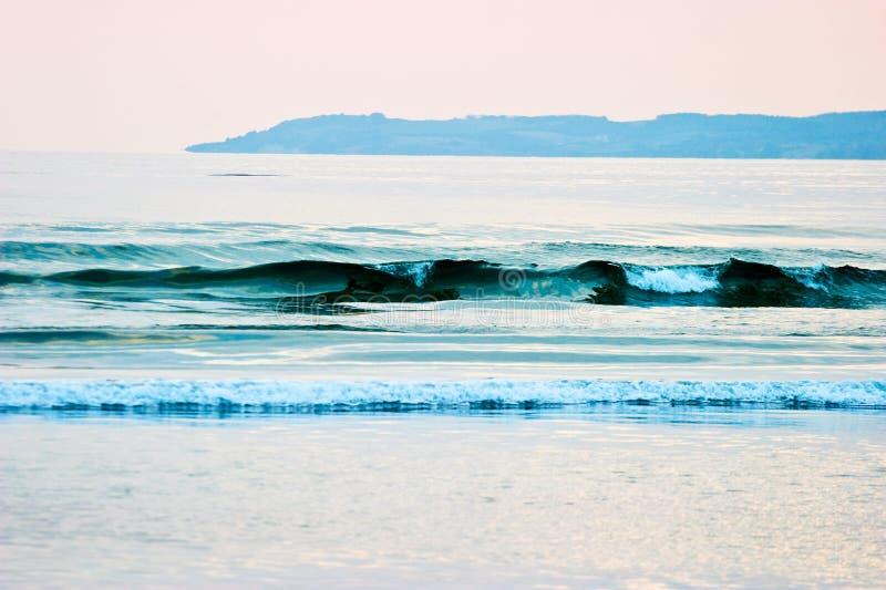 Seewelle stockfoto