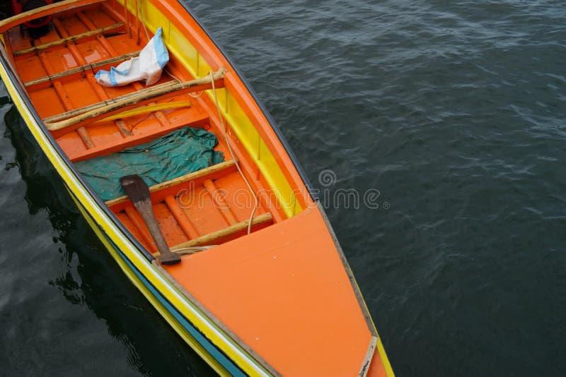 Seezigeunerboot bei Sabah lizenzfreies stockfoto
