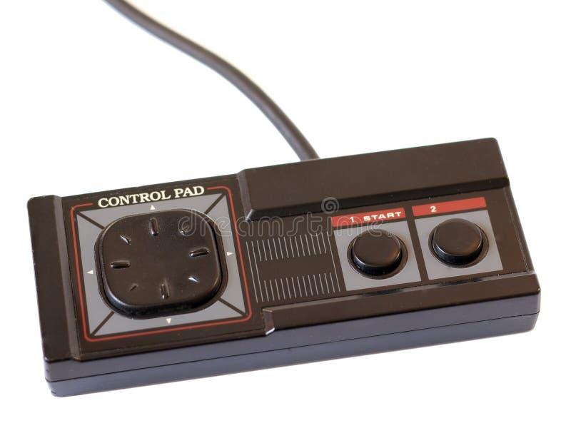 SEGA Master system control pad. Control pad for the Retro classic video game console Sega Master system stock photos