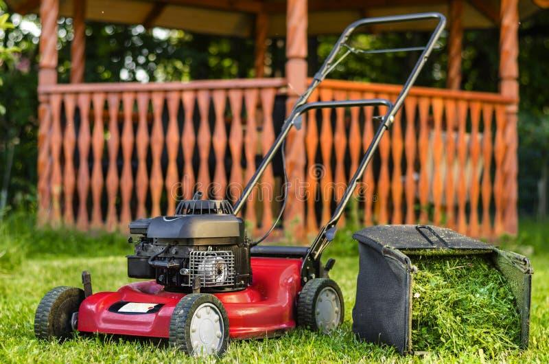 Segadeira de gramado foto de stock