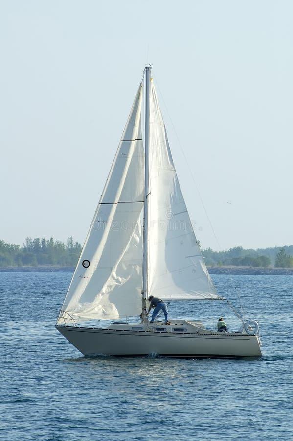 Segel-Boot 3 lizenzfreie stockfotografie