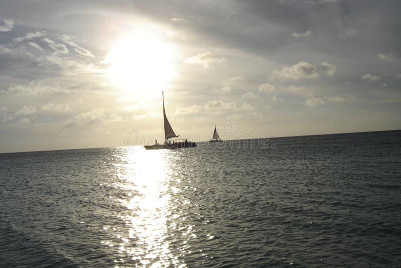 segelbåtar arkivbilder