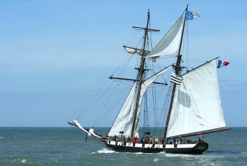 Segelboot Stockbilder