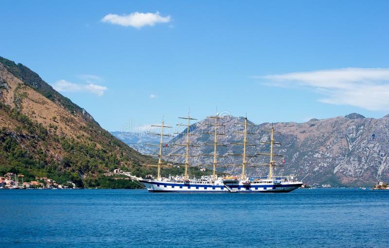 Segelbootkreuzfahrt Stern-Scherer stockfoto