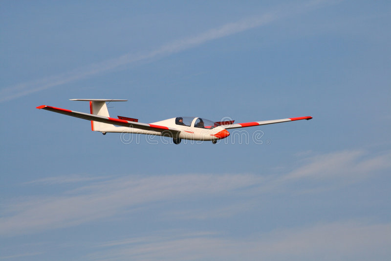 Segelflugzeug lizenzfreie stockbilder