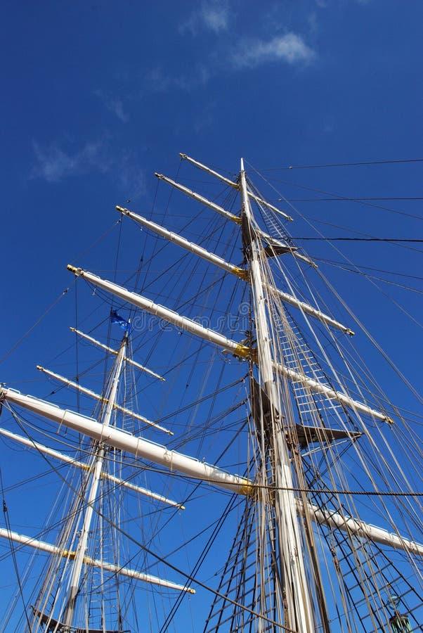 Segellieferung ohne Segel lizenzfreies stockbild