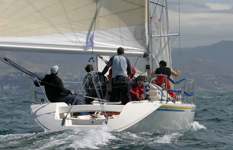 Segeln, yachting #6 lizenzfreie stockbilder