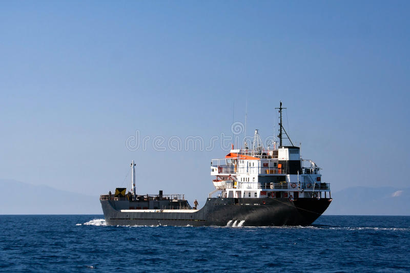 Segelntanker stockfotos