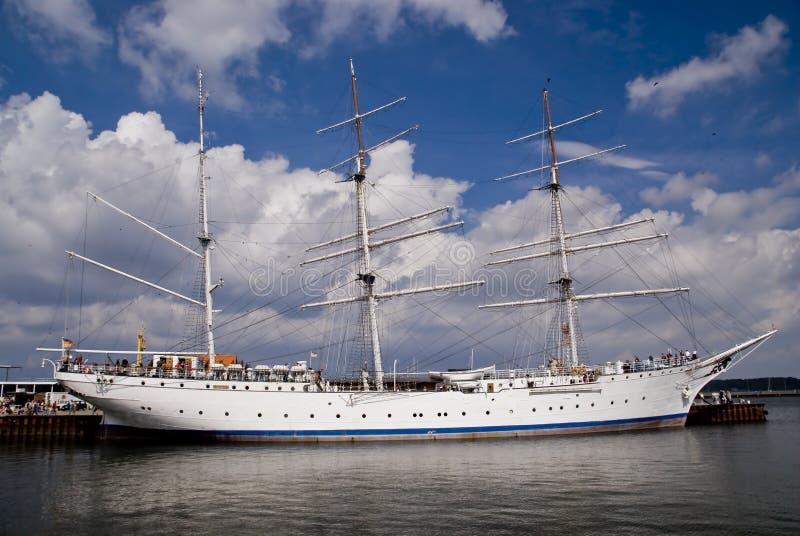 Segelschiff stockbild