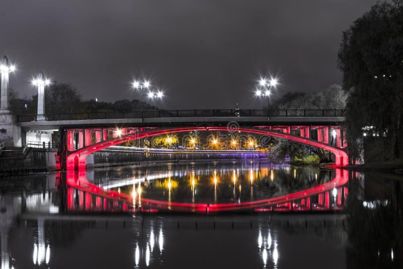 Segerbro i Tartu, Estland royaltyfria foton