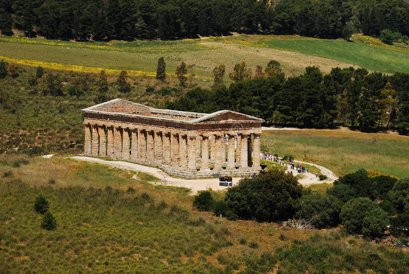 Segesta (Sicilië) stock fotografie