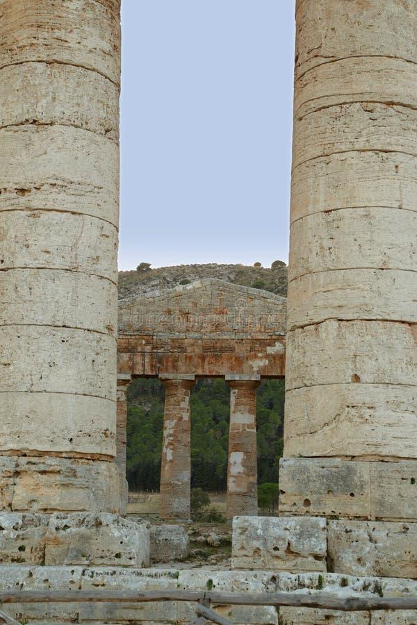 Segesta - Sicilië royalty-vrije stock afbeelding