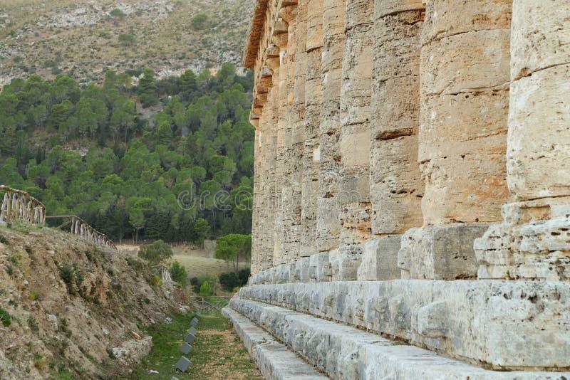Segesta - Sicilië royalty-vrije stock foto's