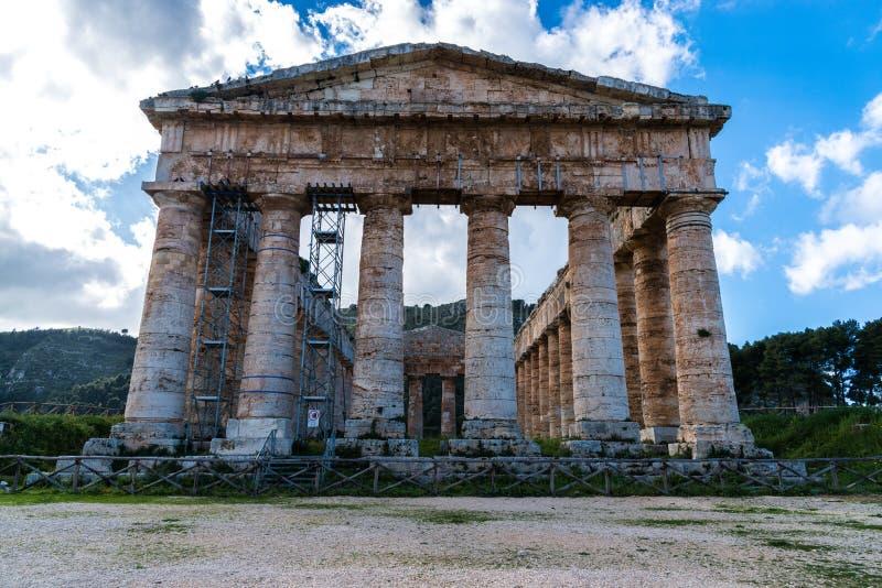 Segesta temple_1 imagenes de archivo