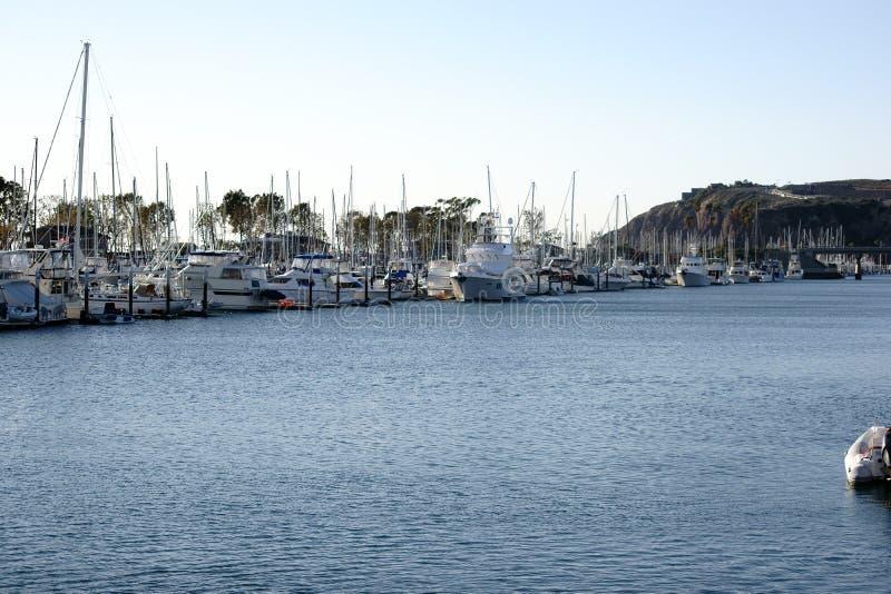 Segla hamnen Dana Point royaltyfria bilder