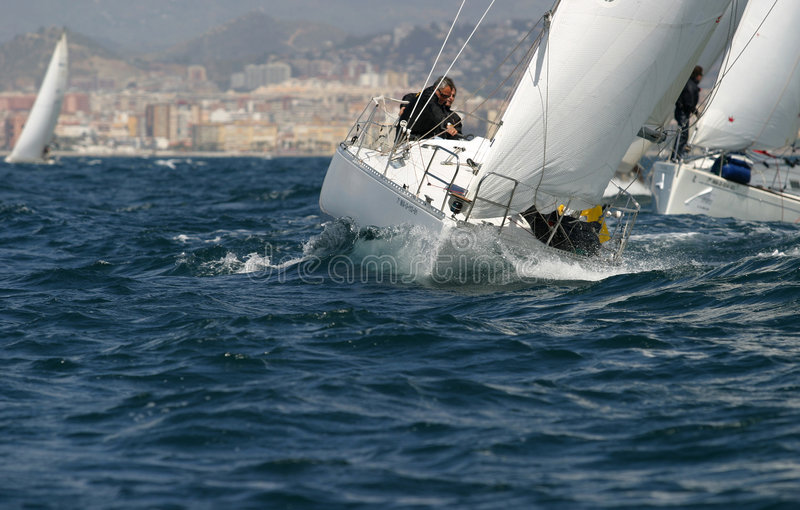 segla segling 12 arkivbilder