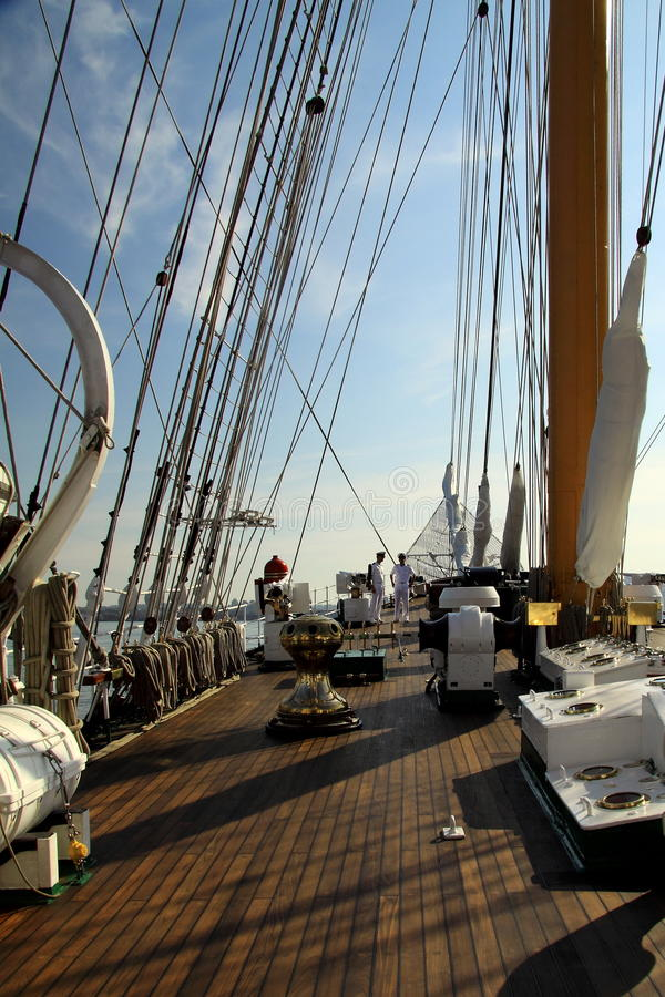 Segla ships arkivfoton