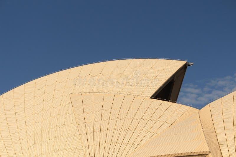 Seglar av Sydney Opera House arkivbild