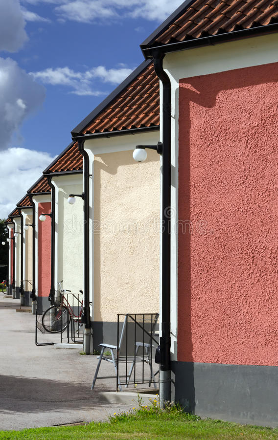 Download Segment Houses Vertical Background Stock Photo - Image: 26658372