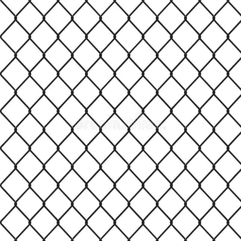 Segment van netwerkomheining vector illustratie