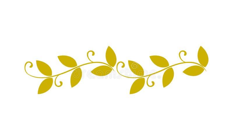 Segmento ornamental ilustração do vetor