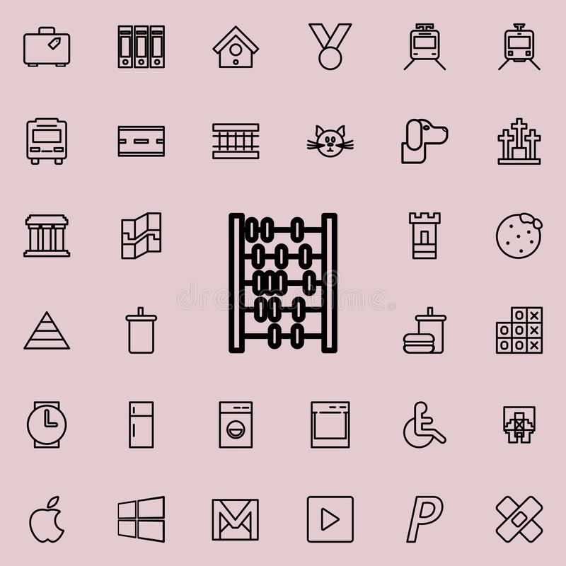segna l'icona Insieme dettagliato della linea minimalistic icone Progettazione grafica premio Una delle icone della raccolta per  royalty illustrazione gratis