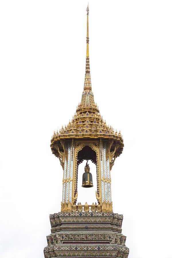 Segnalatore acustico del tempiale tailandese fotografia stock libera da diritti