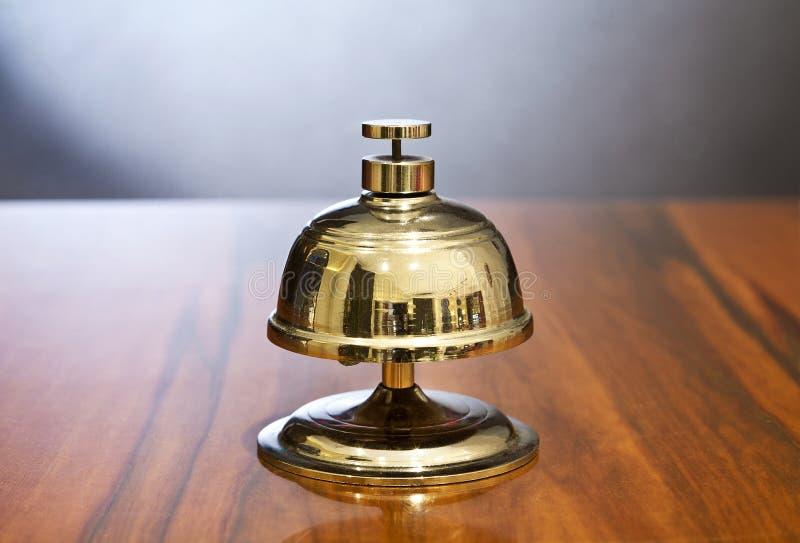 Segnalatore acustico dell'hotel fotografia stock libera da diritti