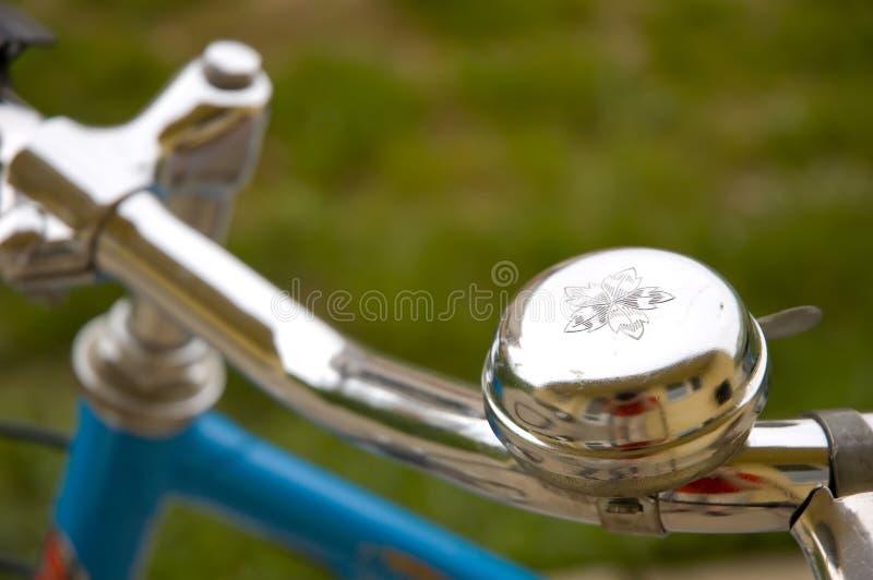 Segnalatore acustico della bicicletta fotografia stock