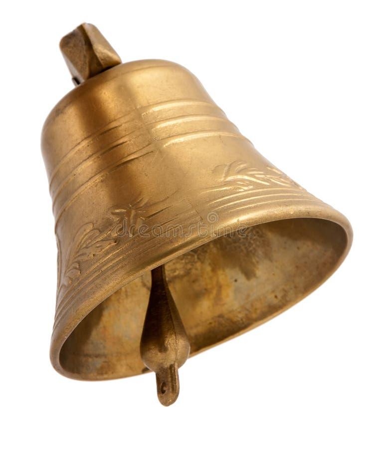 Segnalatore acustico dorato fotografie stock libere da diritti