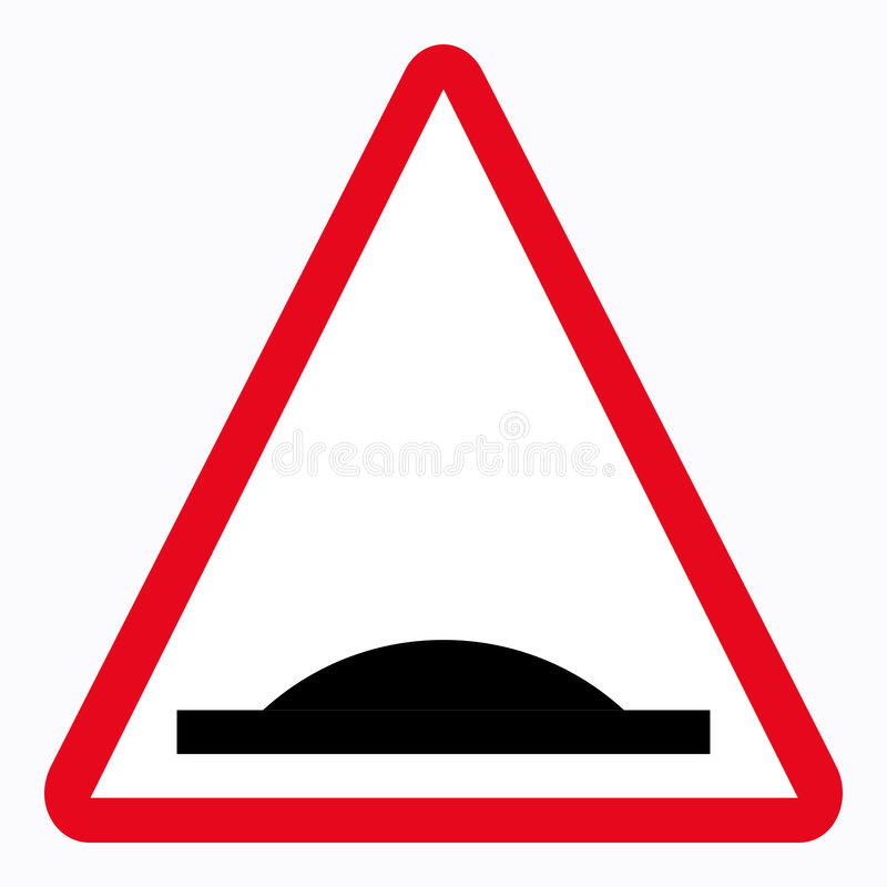 Segnale stradale illustrazione di stock