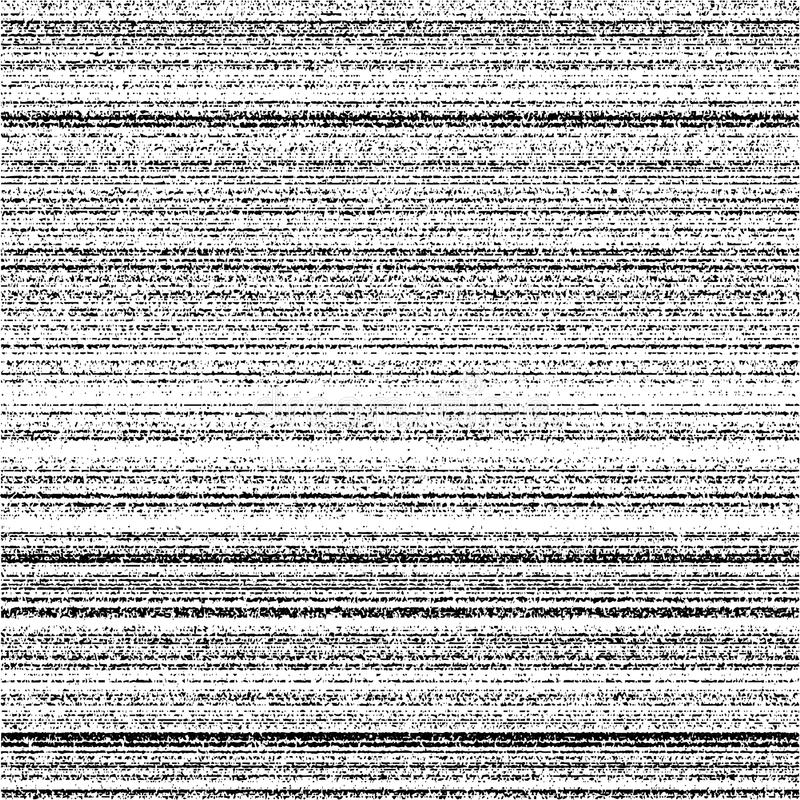 Segnale video senza cuciture della banda di rumore di struttura di rumore illustrazione vettoriale